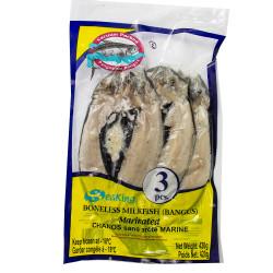 Boneless Milkfish (Bangus) Marinated 3Pcs/ 牛奶鱼扒每袋三条 - 420g