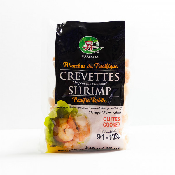 Pacific White Shrimp 90/120 - 340 g
