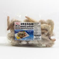 White Shrimps / 华洋去头白虾 --26/30 -- 500G