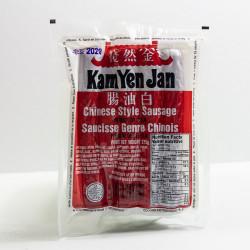 Chinese Style Sausage / 金然栈白油肠 - 375 g