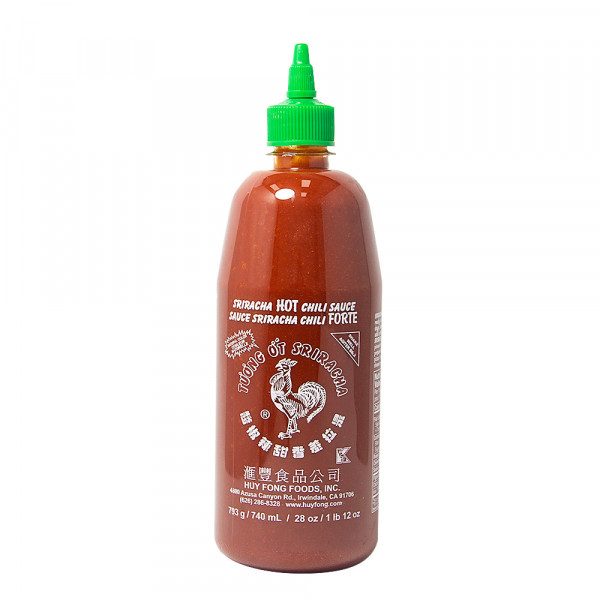 Siracha Hot Chili Sauce - 740 mL