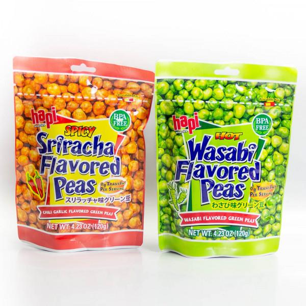 Chili Garlic Flavoured Green Peas - 120 g