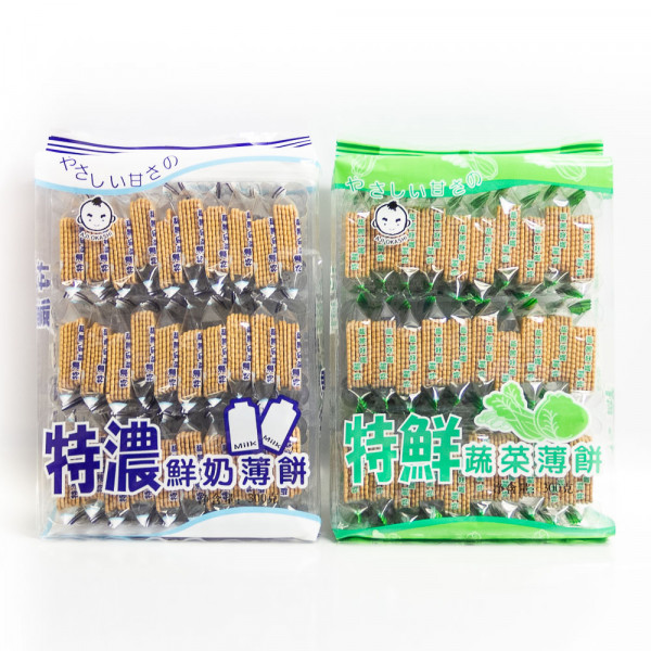 Vegetable Biscuit / 特鲜蔬菜薄饼