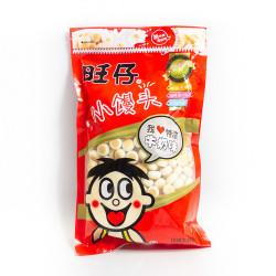WANT-WANT Mini Milk Bun / 旺仔小馒头(牛奶味) - 2包 (每包 210 g)