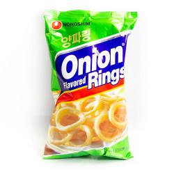 Nongshin Onion Flavoured Rings / 农心洋葱圈 - 90 g