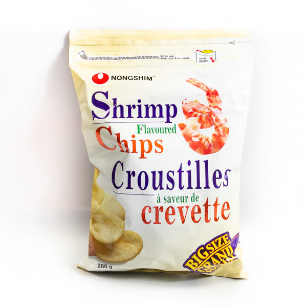 Shrimp Flavoured Chips / 农心虾片 - 200g