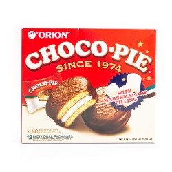 LOTTE choco-pie with marshmallows 468g