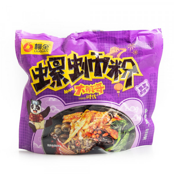 Spicy Instant Rice Noodles (Sauerkraut spicy)/ 柳全大航海螺蛳粉 (酸菜麻辣味) - 335 g